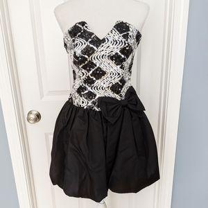 Jessica McClintock Gunne Sax 80s Vintage Dress